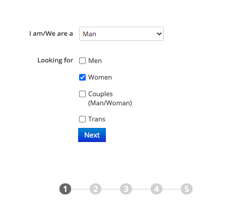 Signing Up On AdultFriendFinder
